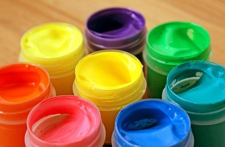 Color paint Stock Photo