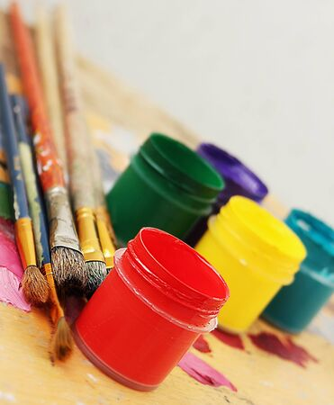Color paints Stock Photo - 11968932