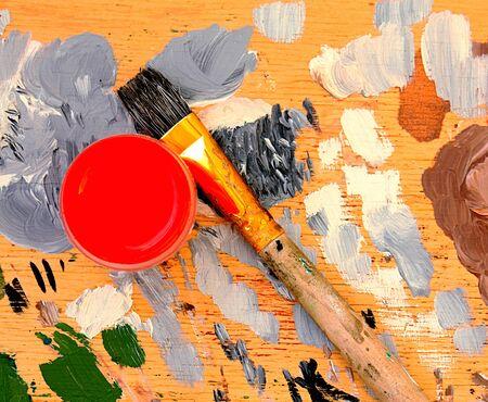 Color paints photo
