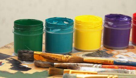 Color paints Stock Photo - 11968935
