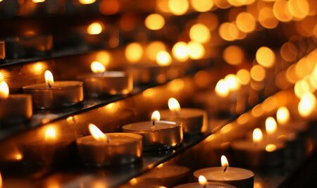Church candles Stock Photo - 13995010