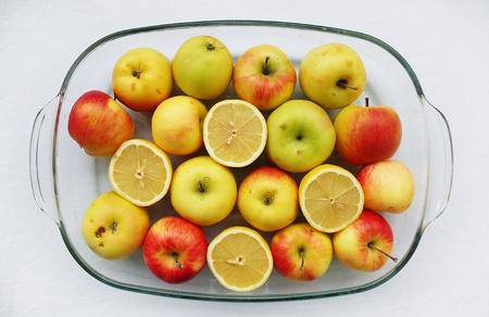 Healthy bright fruits photo