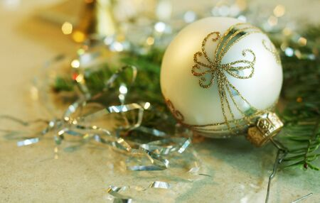 Background of Christmas decorations Stock Photo - 15883865