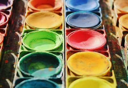 Color paints photo