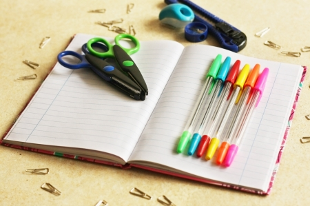 Color office tools Stock Photo - 17984143