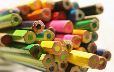 creativeness: Color pencils