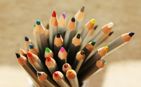Color pencils Stock Photo - 18239237