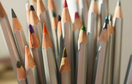 Color pencils Stock Photo - 18239223