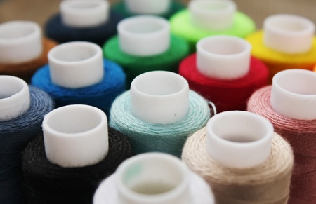 Color threads Stock Photo - 22175796