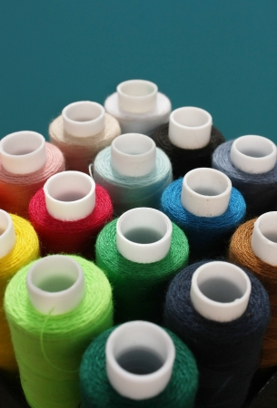 Color threads Stock Photo - 22175799