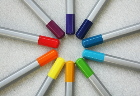 Color pencils Stock Photo - 24077948