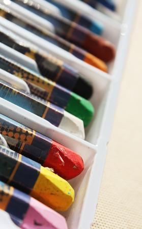 Color pastels photo