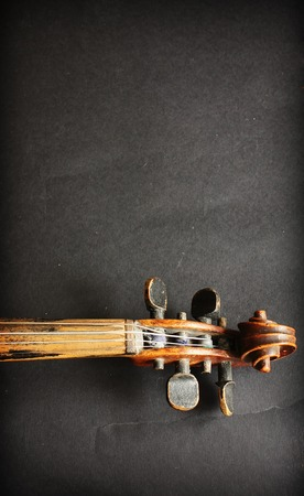 retro music: Beautiful violin Stock Photo