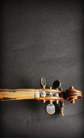 music design: Beautiful violin Stock Photo