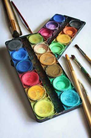 paints: Set of color paints