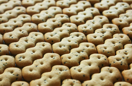 Appetite small cookies Stock Photo