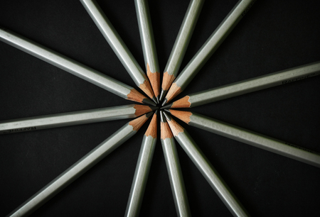 Art pencil concept Stock Photo