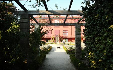 Beautiful botanic garden in Porto