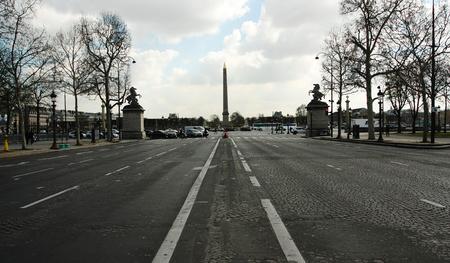 Calle de París caminando