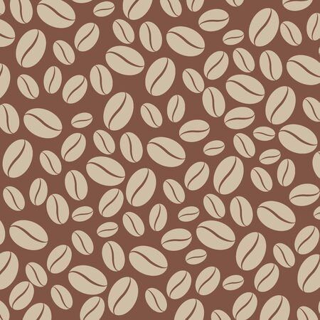 coffee beans background: Vector coffee beans background Illustration