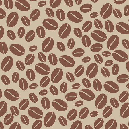 coffee beans: Vector coffee beans background Illustration