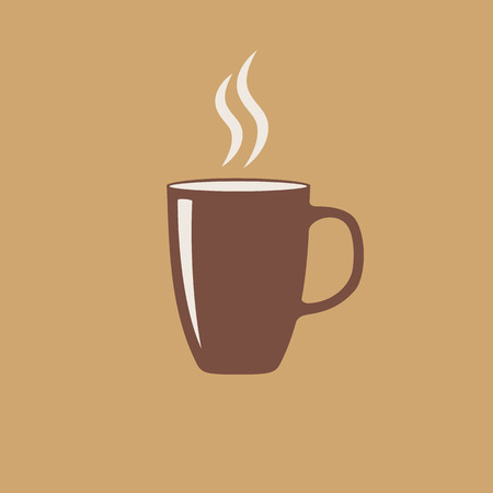 aroma: Cup of hot aroma coffee