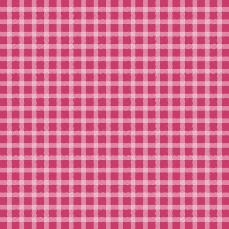 a tablecloth: Pink picnic checkered tablecloth Illustration