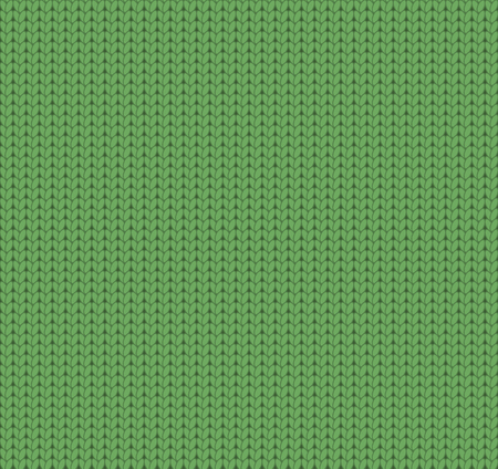 knitted: Knitted green texture, knitted pattern Illustration