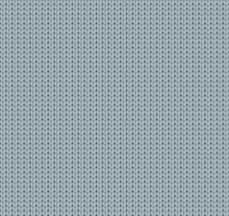 gray pattern: Knitted gray texture, knitted pattern Illustration