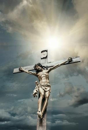 antique jesus: Crucifixion of Jesus Christ