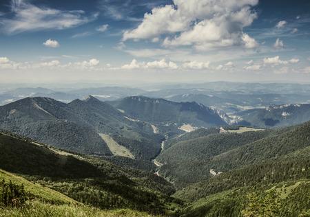 Tatra region hills