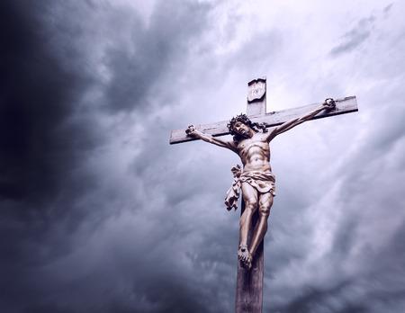 イエス ・ キリストのはりつけ 写真素材