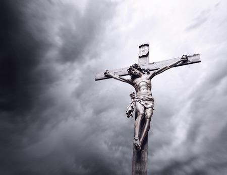 İsa'nın çarmıha gerilmesi Stok Fotoğraf