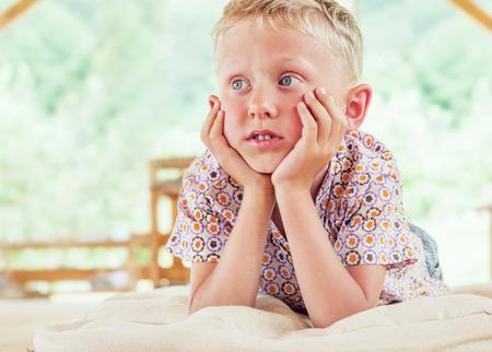 Little Boy portrait photo