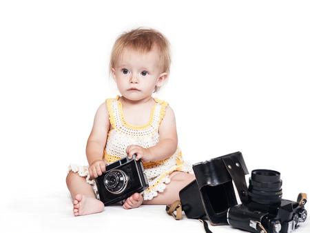 first step: Erster Schritt Fotografen