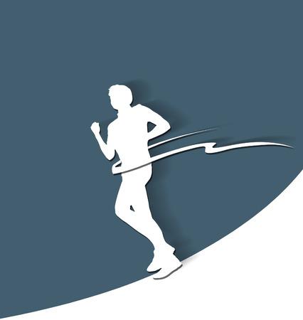 starting line: Paper runner