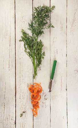 haulm: Carrot haulm and skin