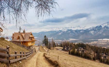 zakopane: Mountain ski village , Zakopane,Poland