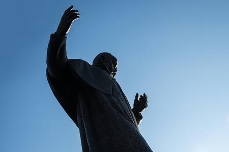 lviv: Ukrainian poet Taras Shevchenko monument, Lviv, Ukraine