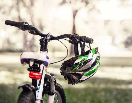 Veilige fietshelm