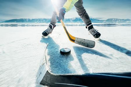 Hokej na lodzie gry chwili