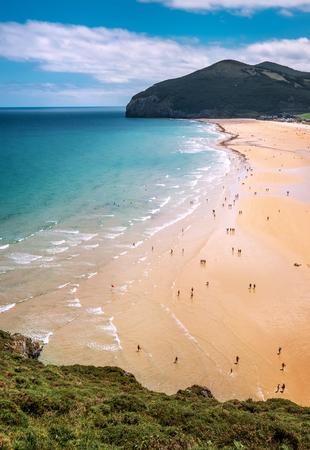 Ocean coast line, North Spain