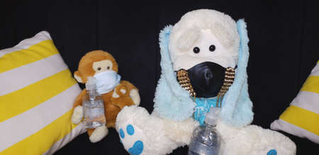 plush teddy bears Archivio Fotografico