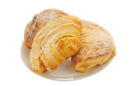 pone: tasty muffin on white background Stock Photo