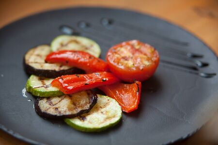 grilled vegetables: grilled vegetables Stock Photo