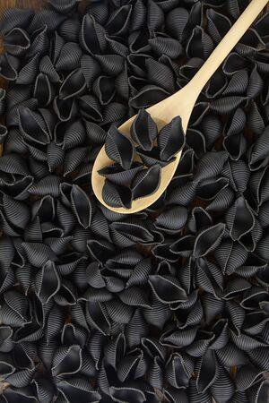 palatable: gourmet delicious fresh Italian pasta black Neri