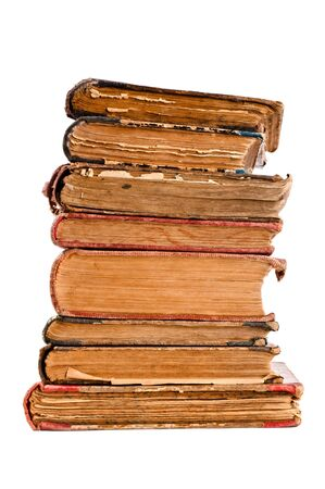 old antique books from scuffs and scratches Stock Photo - 8618272
