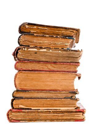 libros antiguos: viejos libros antiguos de rayones y rayones Foto de archivo
