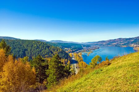 Siberia, Yenisei Stock Photo