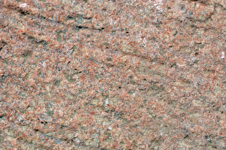 Red granite rough